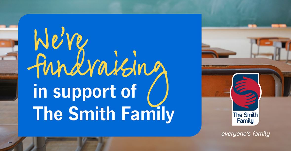 We're Fundraising Banner
